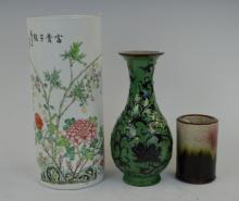 3 Chinese Porcelains