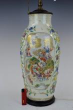 18th C Chinese Porcelain Taoist Vase