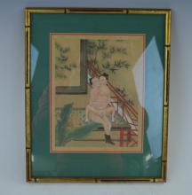 Chinese Erotic Portfolio Painting