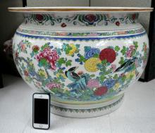 Yongzheng Style Large Enameled Urn