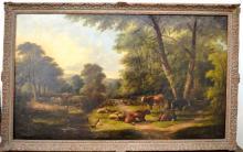 Edmund Aylburton Willis, British, Oil on Canvas