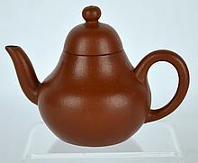 Small and Fine Chinese Yixing Teapot, Daoguang
