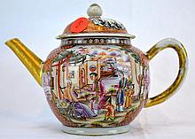 Chinese Porcelain Mandarin teapot