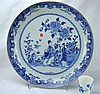Chinese Porcelain Blue & White Charger, Kangxi