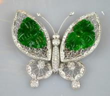 GIA Certified Natural Chinese Carved Jadeite