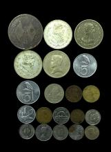 20 MIXED FOREIGN COINS
