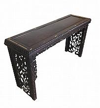 Antique Chinese Carved Hardwood Altar Table