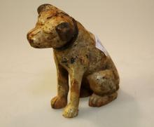 Cast Iron RCA Dog