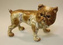 Cast Iron Bulldog Bank
