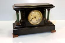 Early 20th Century Slate Mantel Clock