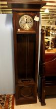 Early 20th Century Oak Grandfather Clock