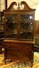 Drexel Empire Style China Cabinet