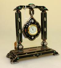 Jay Strongwater Hanging Pendant Clock