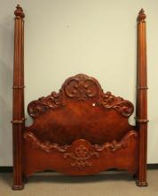 Pulaski Furniture Mahogany Poster Bed