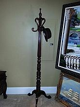 Mahogany Coat Hanger/ Picture Holder