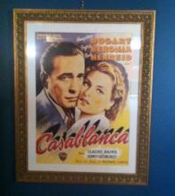 Two Old Movie Posters -  Framed