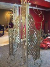 Golden Decorative Room Divider/Dressing Screen