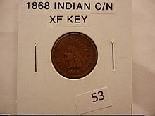 1868 Indian Head Cent