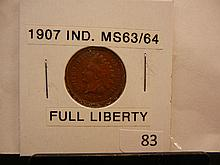 1907 Indian Head Cent