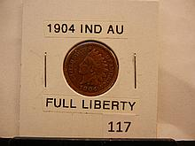1904 Indian Head Cent