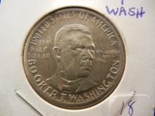 1946-S Booker T. Washington Half dollar.  Uncirculated.