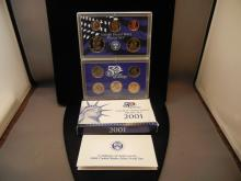 2001-S US Proof Set.  In government package.