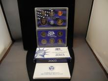 2003-S US Proof Set.  In government package.