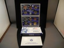 2004 Proof Set with State Quarters