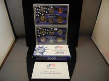 2005 Proof Set with 50 State Quarters