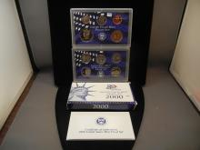 2000 Proof Set with 50 State Quarters