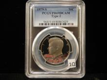 1979-S Kennedy Half Dollar PCGS PR69DCAM Type 2