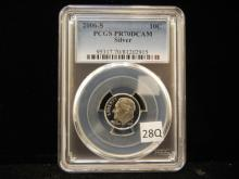 2006-S Roosevelt Dime PCGS PR70 DCAM Silver