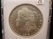1878 Morgan Dollar  8 Tail Feathers