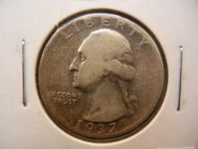 1937-D Silver Washington Quarter