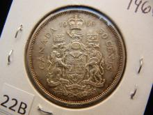 1966 Canadian 50 Cents