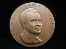 1969 Bronze Richard Nixon Inaugural Medal.  Original.