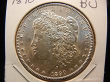 1890 Morgan Dollar.  Brilliant Uncirculated.