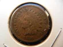 1876 Indian Cent.  Good detail.