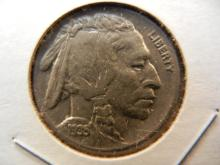1935 Buffalo Nickel.  Uncirculated.