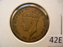 1945 Half Penny from Jamaica