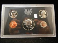 1969 S Proof Set with 40% Silver Kennedy Half Dollar