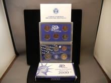 2000 Proof Set with State Quarters