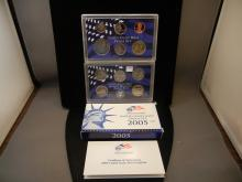 2005 Proof Set with State Quarters