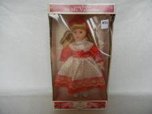Porcelain BE My Valentine Doll By Dandee