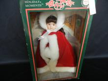 Holiday Moments Porcelain Doll