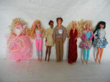 Lot of Barbie & Other Dolls