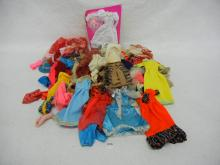 Lot of Misc. Barbie & Other Doll Clothes