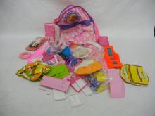 Barbie Backpack, Doll furniture, & accessories
