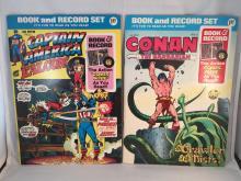 Power Records: Captain America (1974) & Conan the Barbarian (1976)