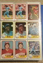 Album of Baseball Cards
